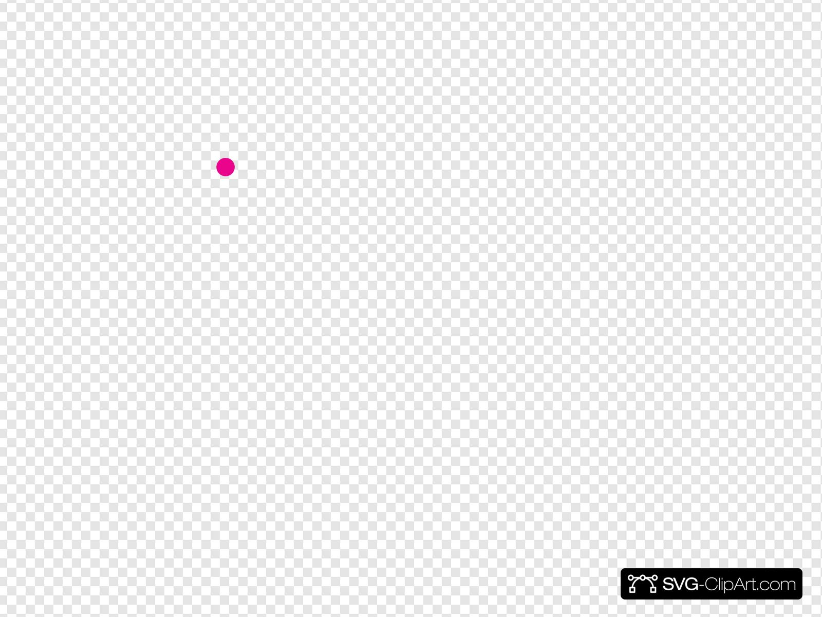 Pink Dot Clip art, Icon and SVG.