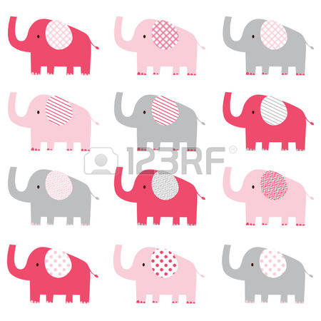 2,292 Pink Elephant Cliparts, Stock Vector And Royalty Free Pink.