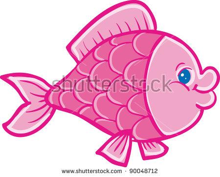 Pink Fish Stock Photos, Royalty.