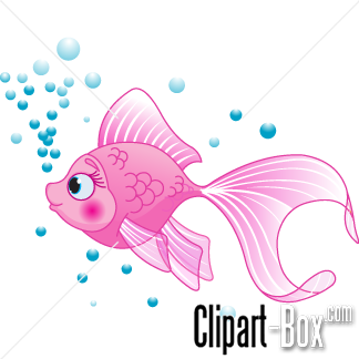 CLIPART PINK FISH.