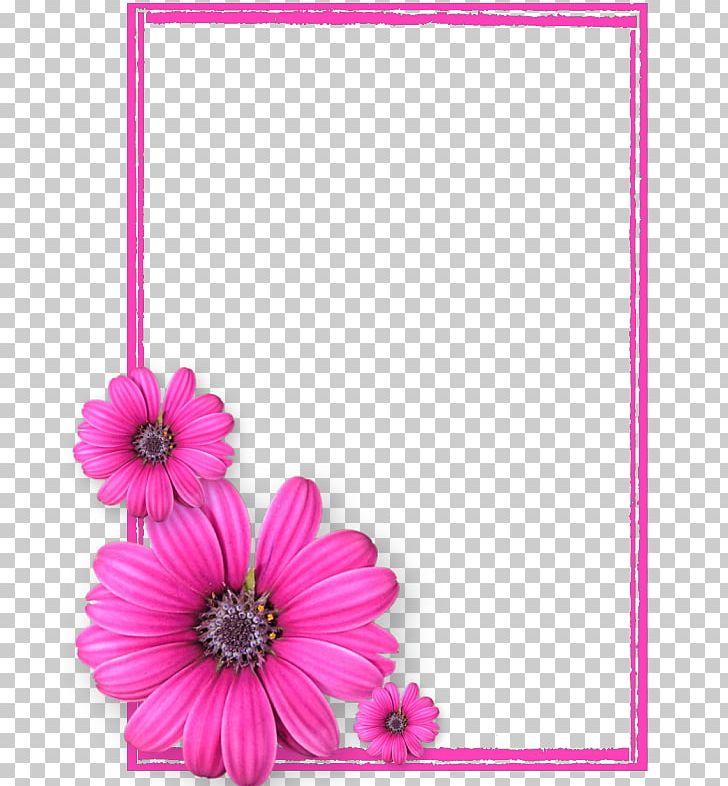 Frame Pink Flowers PNG, Clipart, Border Frames, Dahlia.