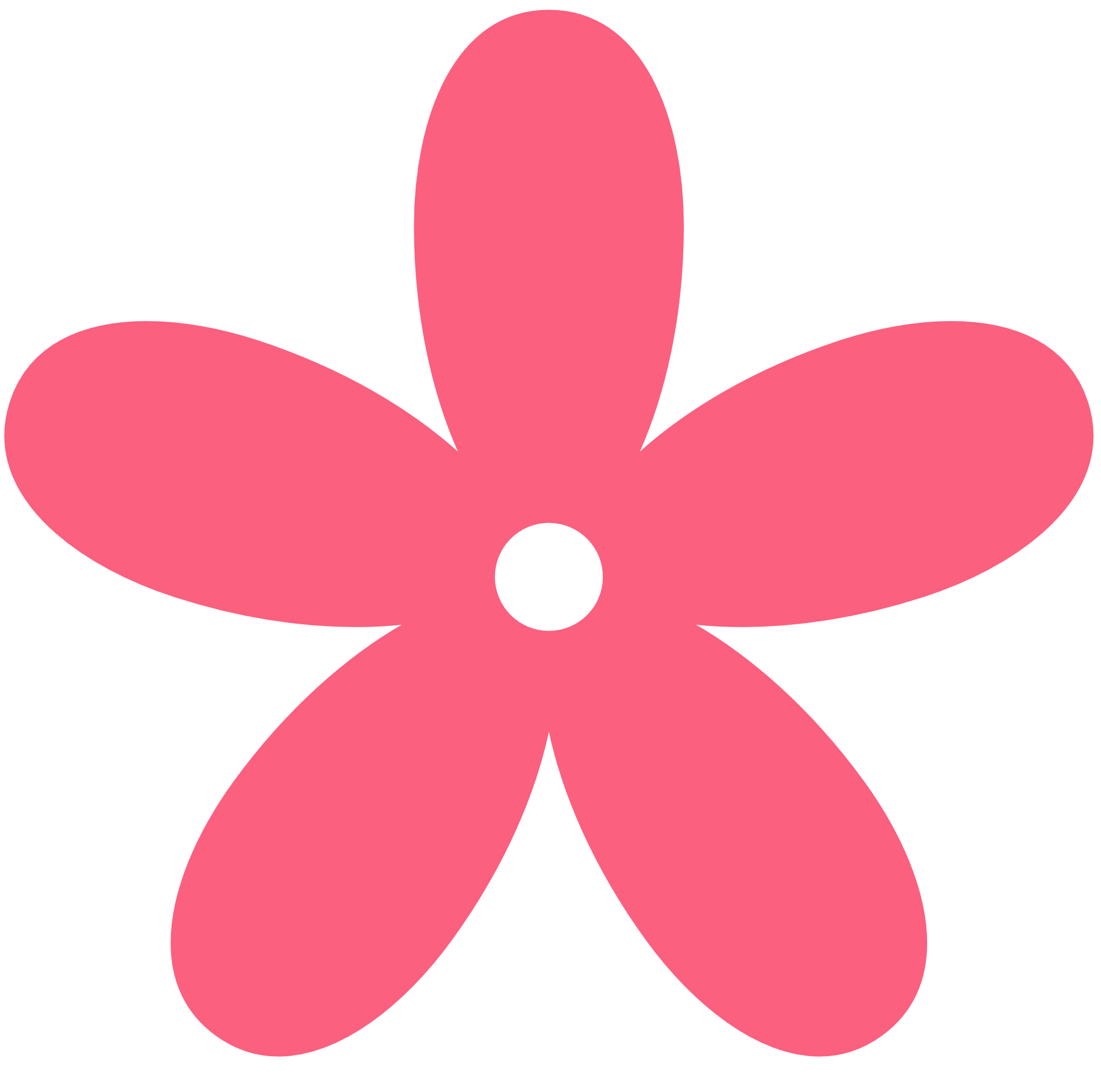 Flowers hot pink flower clipart free clipart images.