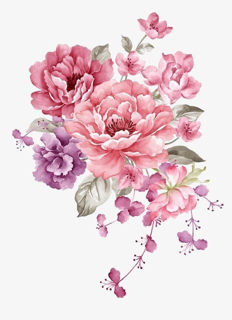 Pink Flower PNG Transparent Pink Flower.PNG Images..