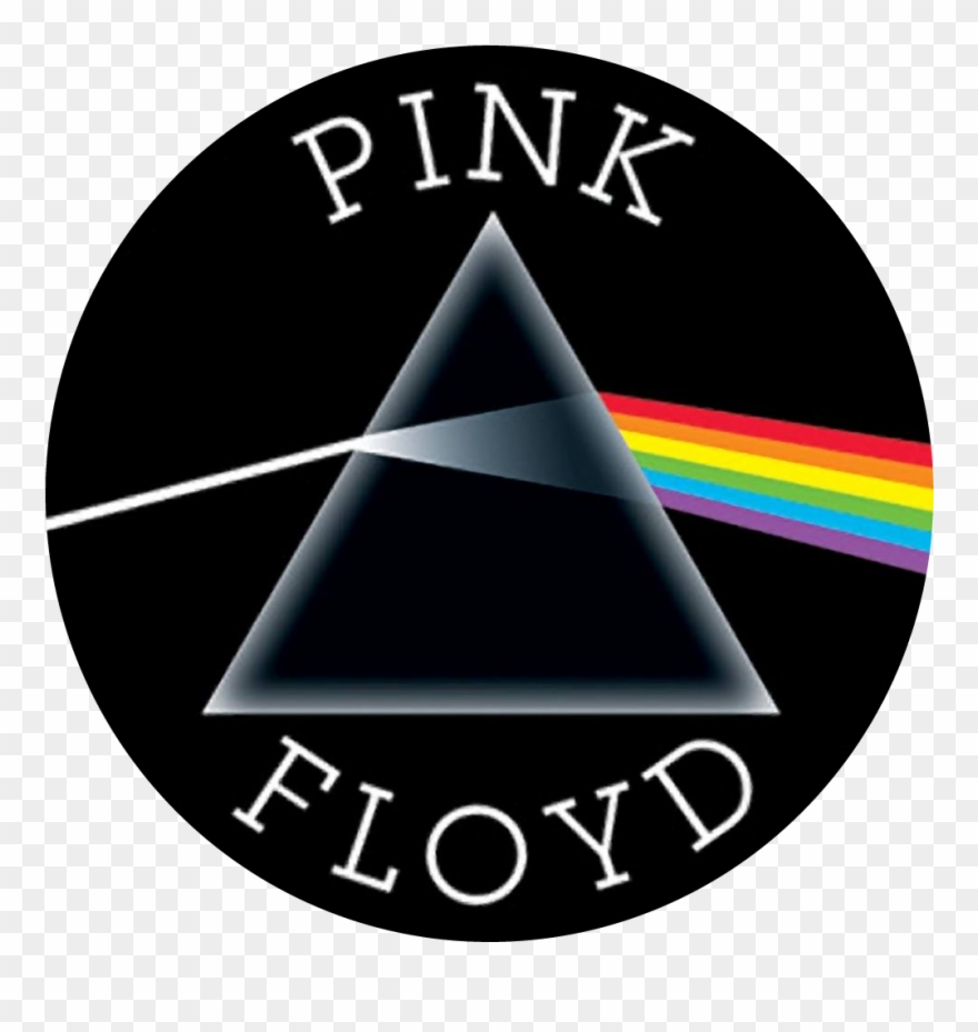 Pink Floyd The Dark Side Of The Moon Button Clipart.
