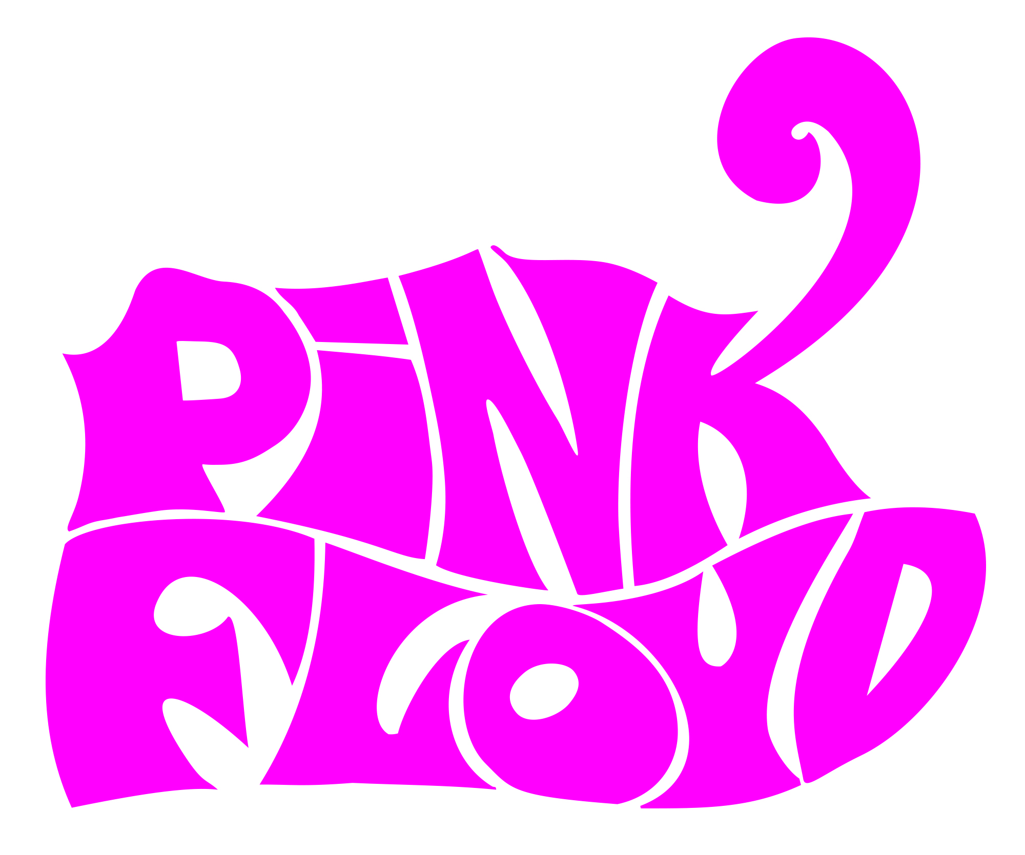 Meaning Pink Floyd logo and symbol.