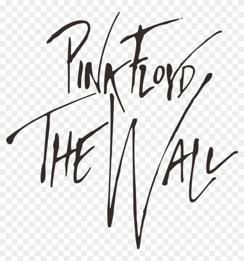 Pink Floyd The Wall Logo.