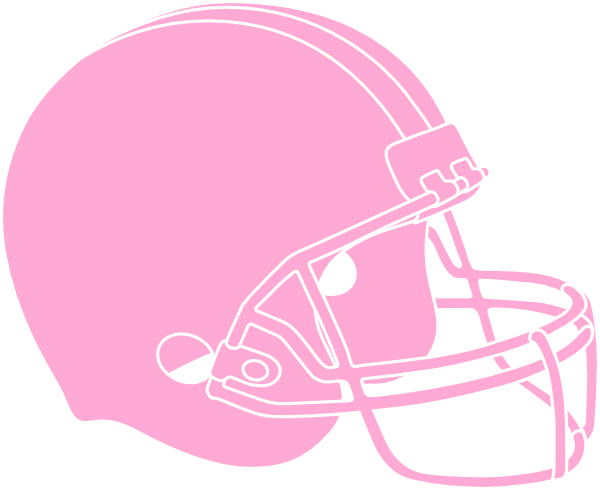Pink Football Helmet Clip Art at Clker.com.