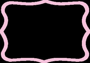 Light Pink Frame Clip Art at Clker.com.
