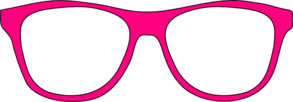 Pink Glasses Clip Art at Clker.com.