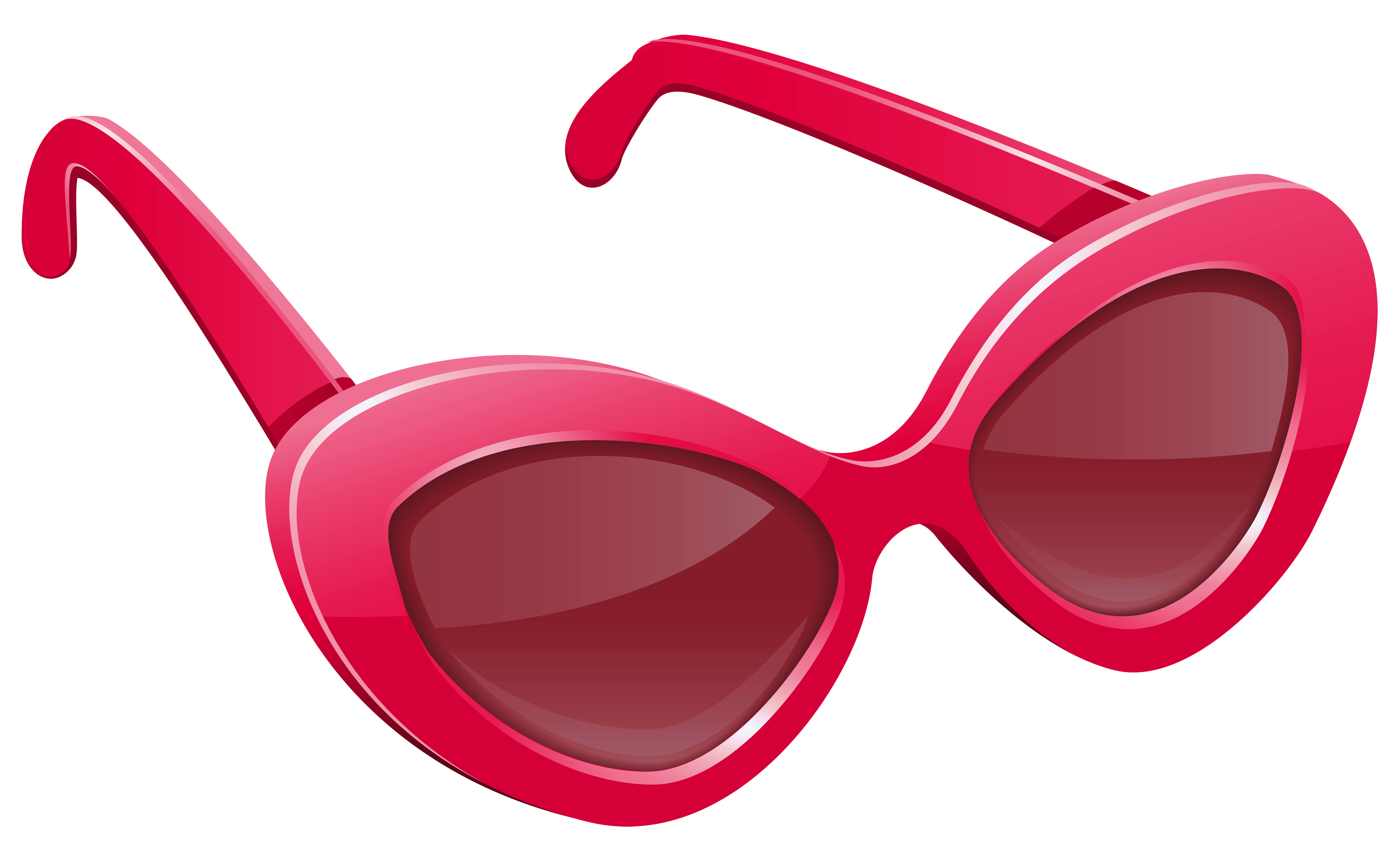 Pink Sunglasses PNG Image.