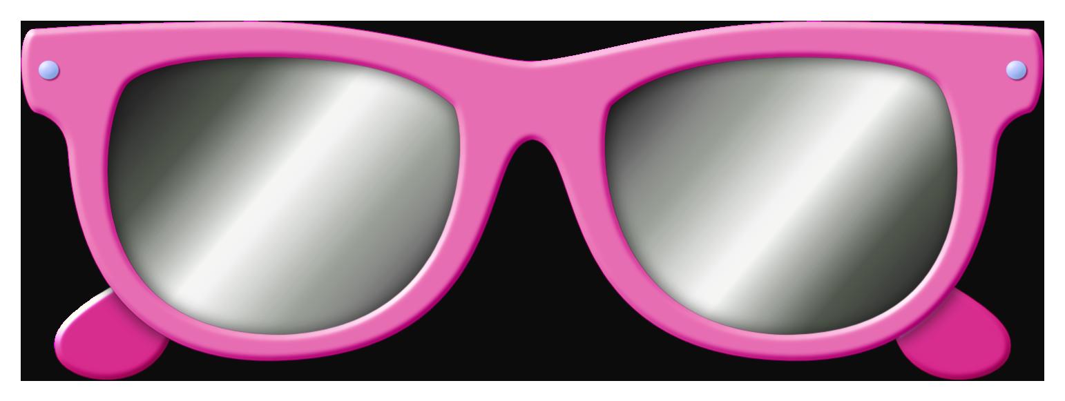 Pink Glasses PNG Image.