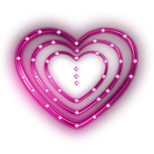 PNG Glowing Heart Clip Art (PINK) by JSSanDA.deviantart.com on.