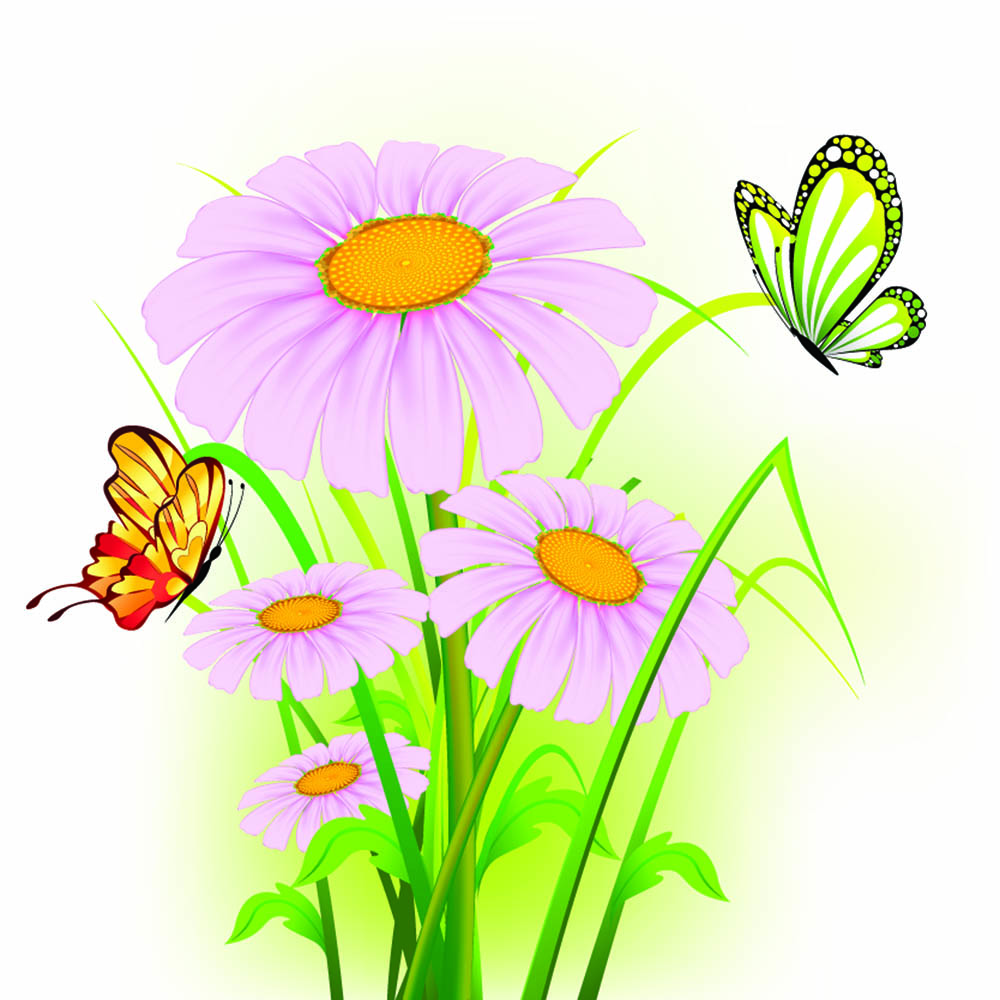 Pink green beautiful flower clipart 20 free Cliparts ...