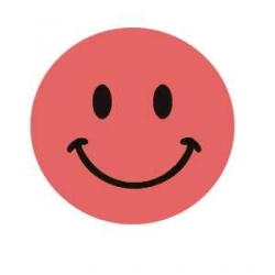 Pink happy faces clip art clipart image #7785.