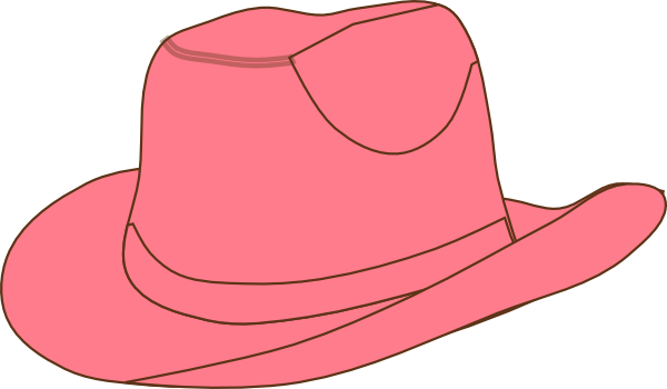 Cowgirl hat clip art.