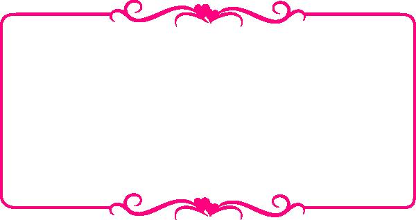 Pink Heart Border Clip Art at Clker.com.