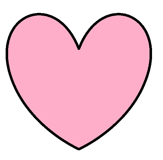 Free Picture Of A Pink Heart, Download Free Clip Art, Free.