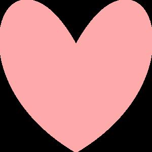 Pink Heart Clip Art.