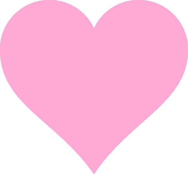 Pink Hearts Clip Art at Clker.com.