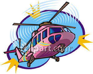 A Pink Helicopter.