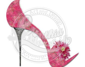 High heels clipart.