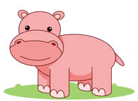 Free Hippo Clipart.