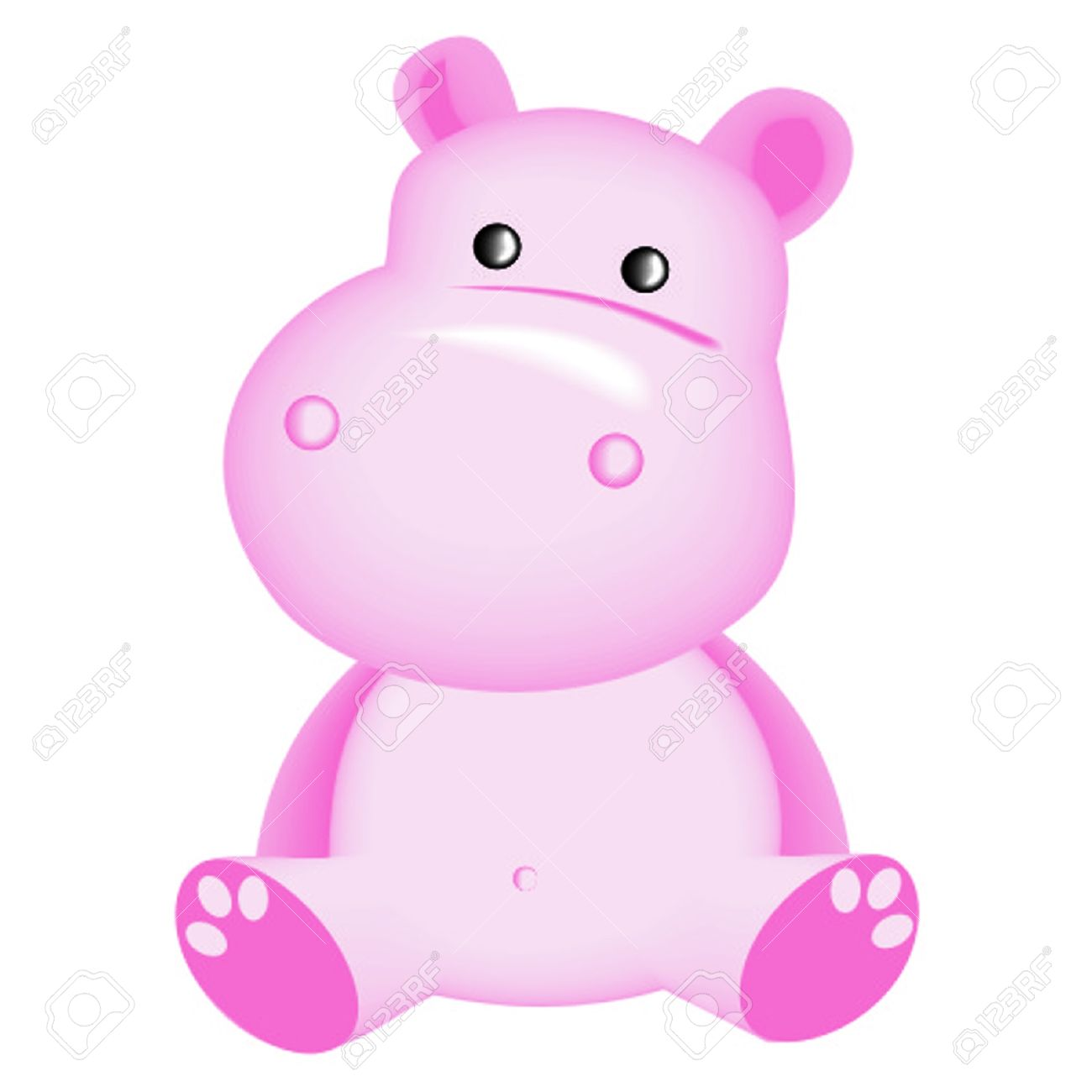 Showing post & media for Pink hippo cartoon.