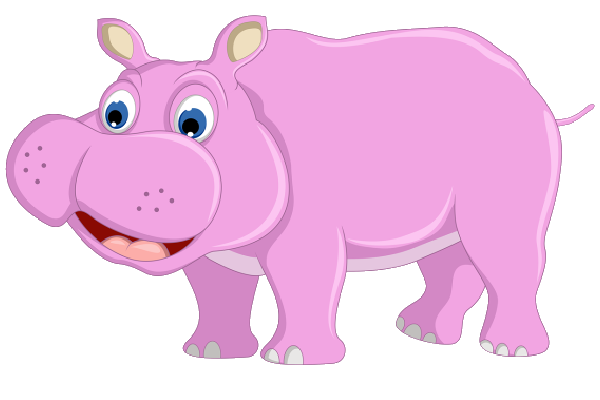 pink hippo clipart 20 free Cliparts | Download images on ...