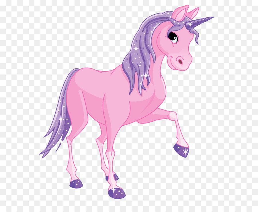 Unicorn Pony Clip art.