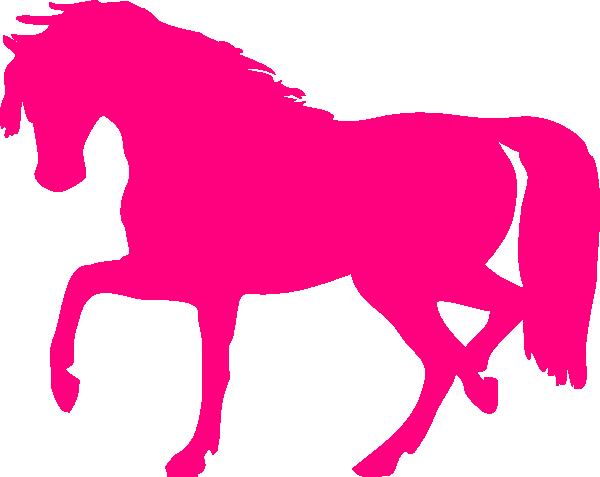 Pink Horse Clip Art at Clker.com.