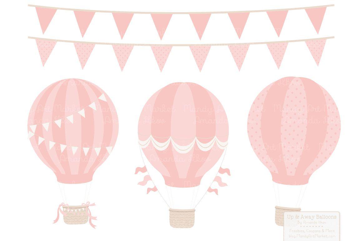 Pink hot air balloon clipart 1 » Clipart Station.