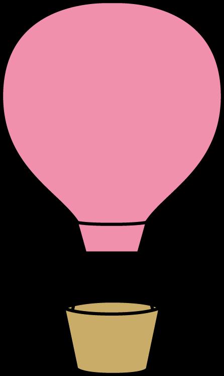 Pink Hot Air Balloon.