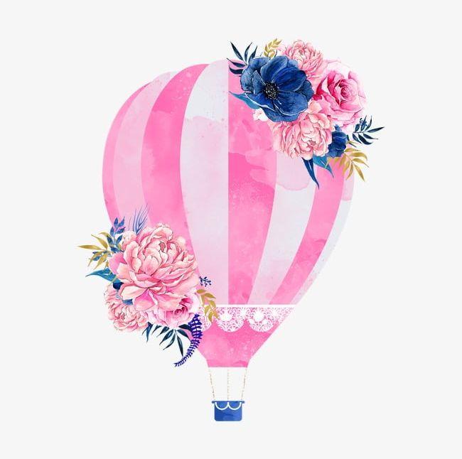 Pink Hot Air Balloon PNG, Clipart, Air, Air Clipart, Balloon.