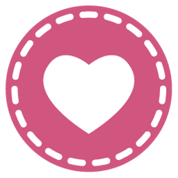 Pink Heart Icon Png #68659.