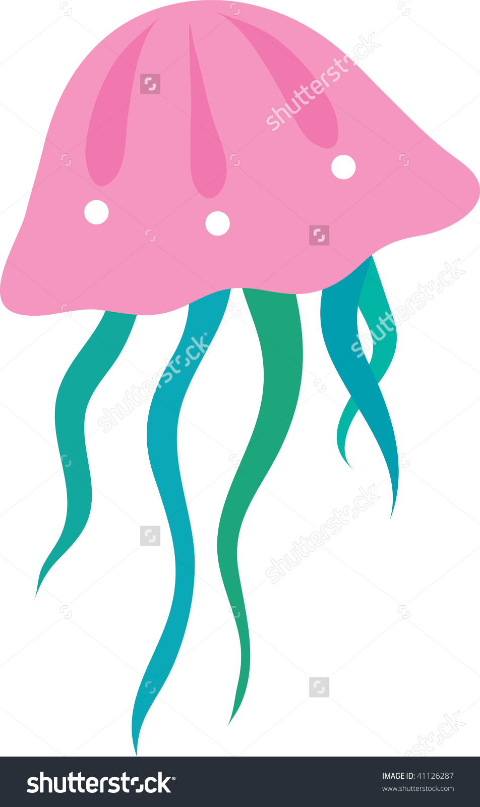 pink jellyfish clipart clipground