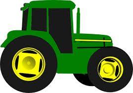 cartoon john deere tractor.