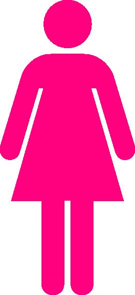 Pink Ladies Clipart.