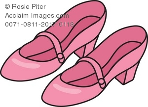 Pink Shoes Clipart.