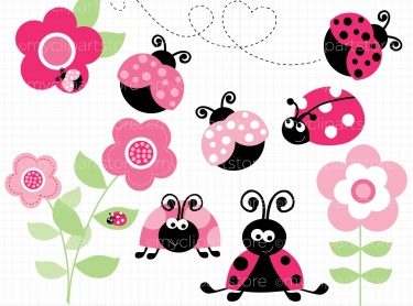 Showing post & media for Pink lady bug cartoon.