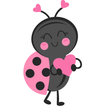 Cute Lady Bug Clipart.