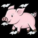 Pink Pig Clipart.