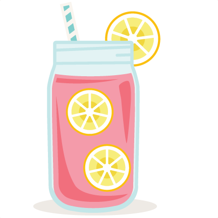 Pink Lemonade scrapbook cut file cute clipart files for.