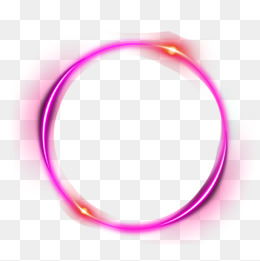 Pink Ring Light Effect, Pink, Annular Lu #67738.