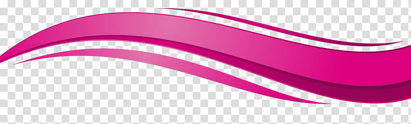 Es en, pink curved line transparent background PNG clipart.