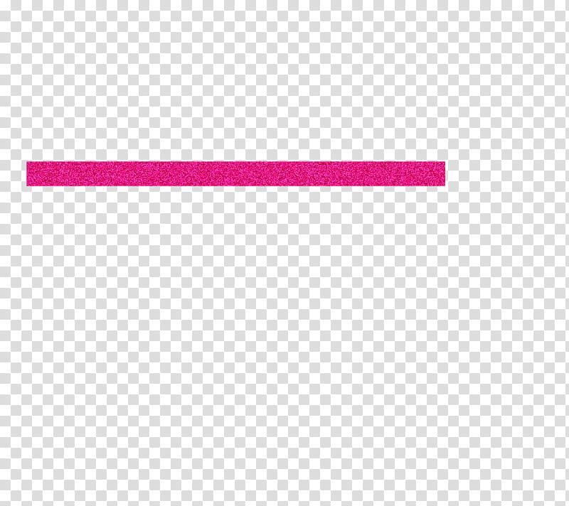 Glitter Line, pink horizontal line transparent background.