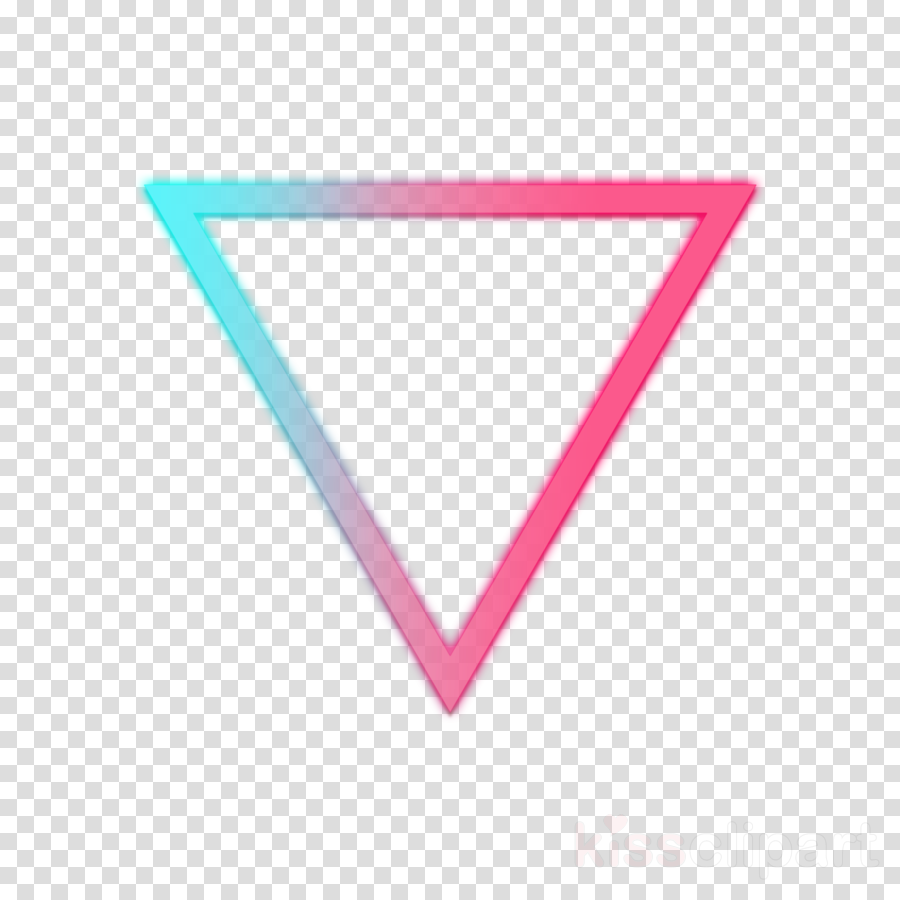 pink line turquoise triangle triangle clipart.