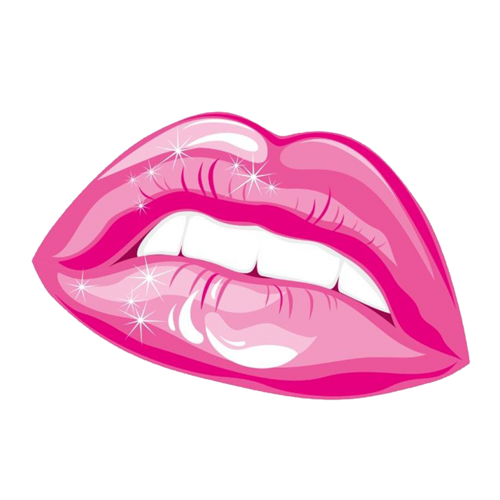 Pink Lips Clipart PNG Image free download searchpng.com.
