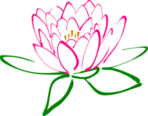 Pink Lotus Clip Art at Clker.com.