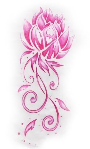 17 Best ideas about Pink Lotus Tattoo on Pinterest.