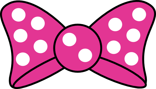 Minnie Mouse Bow Template Printable.